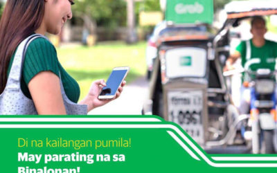 The country's no. 1 ride-hailing platform has arrived in Binalonan