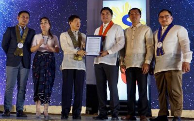 DILG confers to Binalonan its fourth Seal of Good Local Governance (SGLG) Award